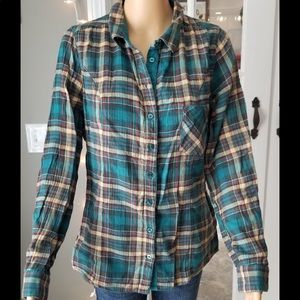 Maurices flannel button up shirt